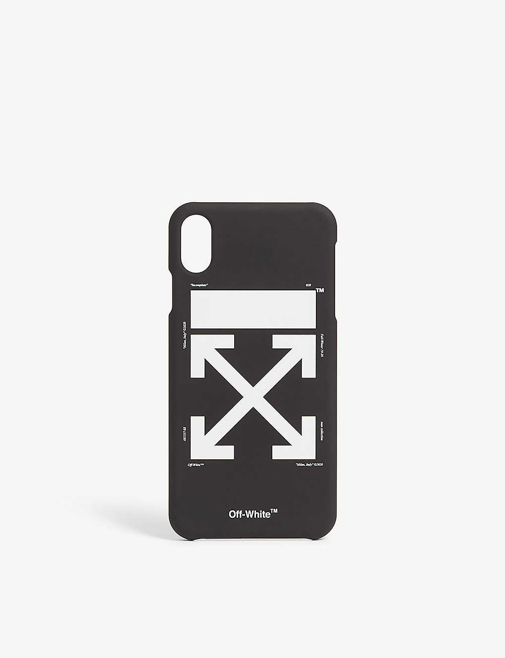 new concept 7eb73 c3857 OFF-WHITE C/O VIRGIL ABLOH - Arrow iPhone Xs Max case | Selfridges.com