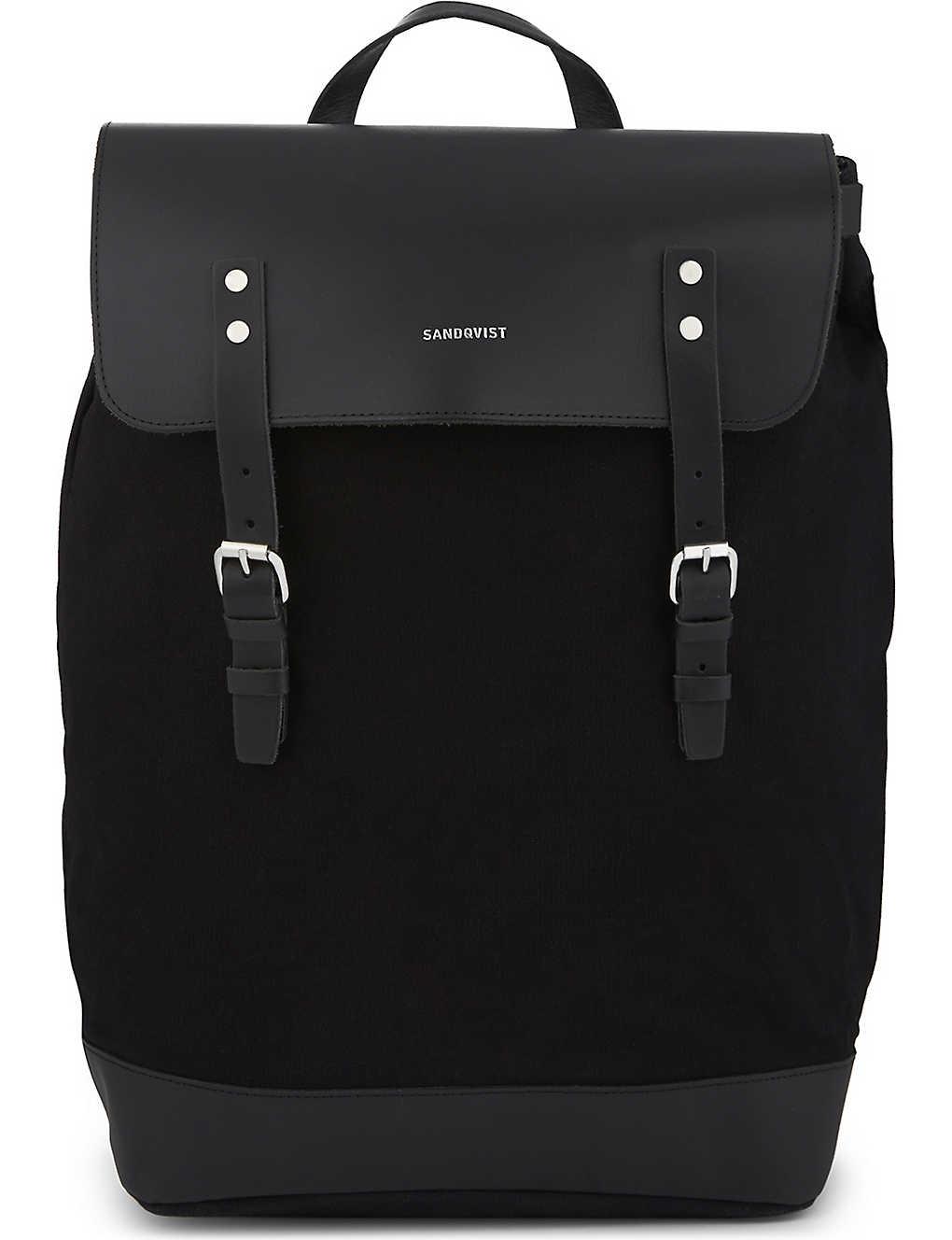 7691e1dbd275 SANDQVIST - Hege canvas backpack