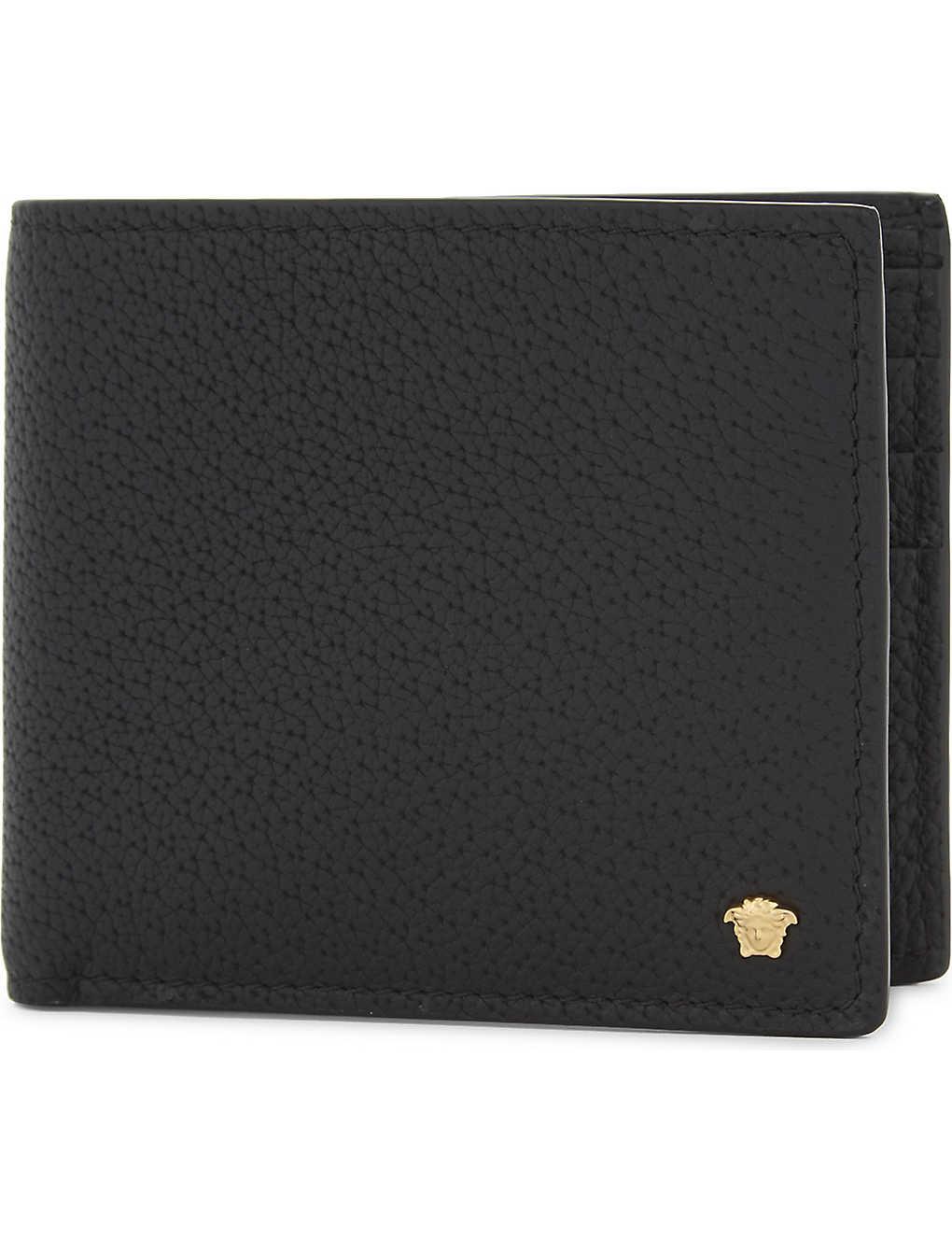 fa220c227fb VERSACE - Medusa leather billfold wallet | Selfridges.com