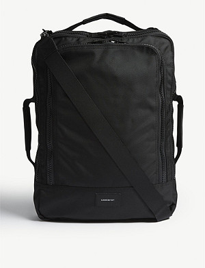 SANDQVIST Tyre four-way canvas backpack