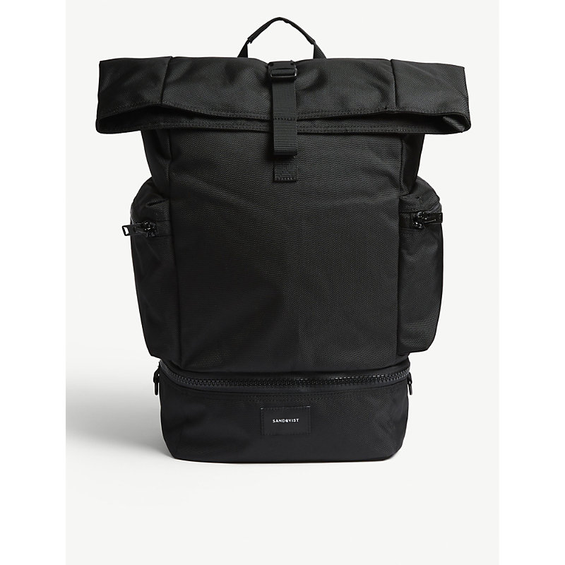 SANDQVIST | Sandqvist Black Verner Backpack | Goxip