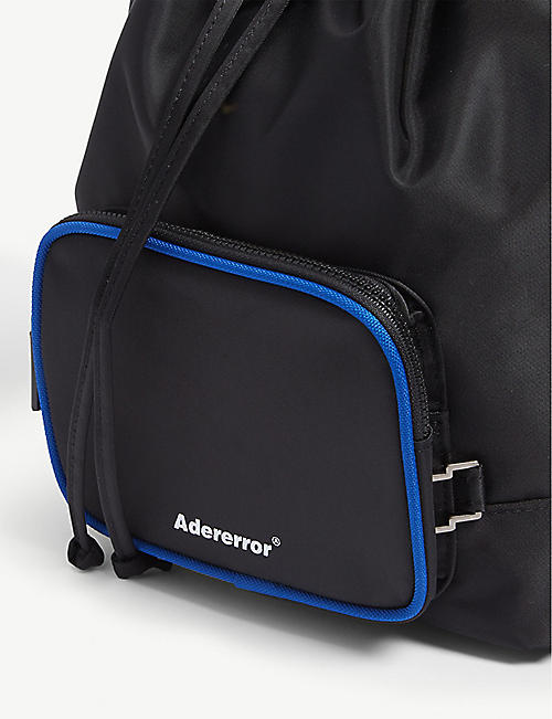ADER ERROR Logo drawstring bag