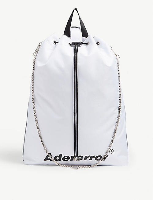 ADER ERROR Drawstring bag
