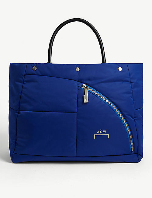 A-COLD-WALL Nylon puffer tote bag