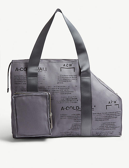 A-COLD-WALL V2 canvas tote bag