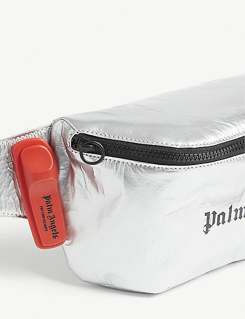PALM ANGELS Reflective logo belt bag
