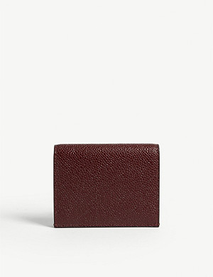 THOM BROWNE Funmix leather card holder