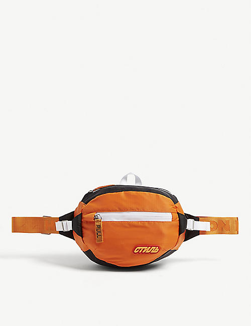 HERON PRESTON Logo nylon belt bag