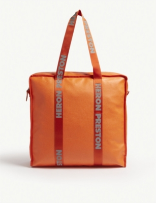 HERON PRESTON Logo large tote bag