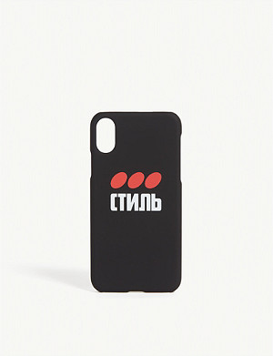 HERON PRESTON СТИЛЬ dots iPhone XS case