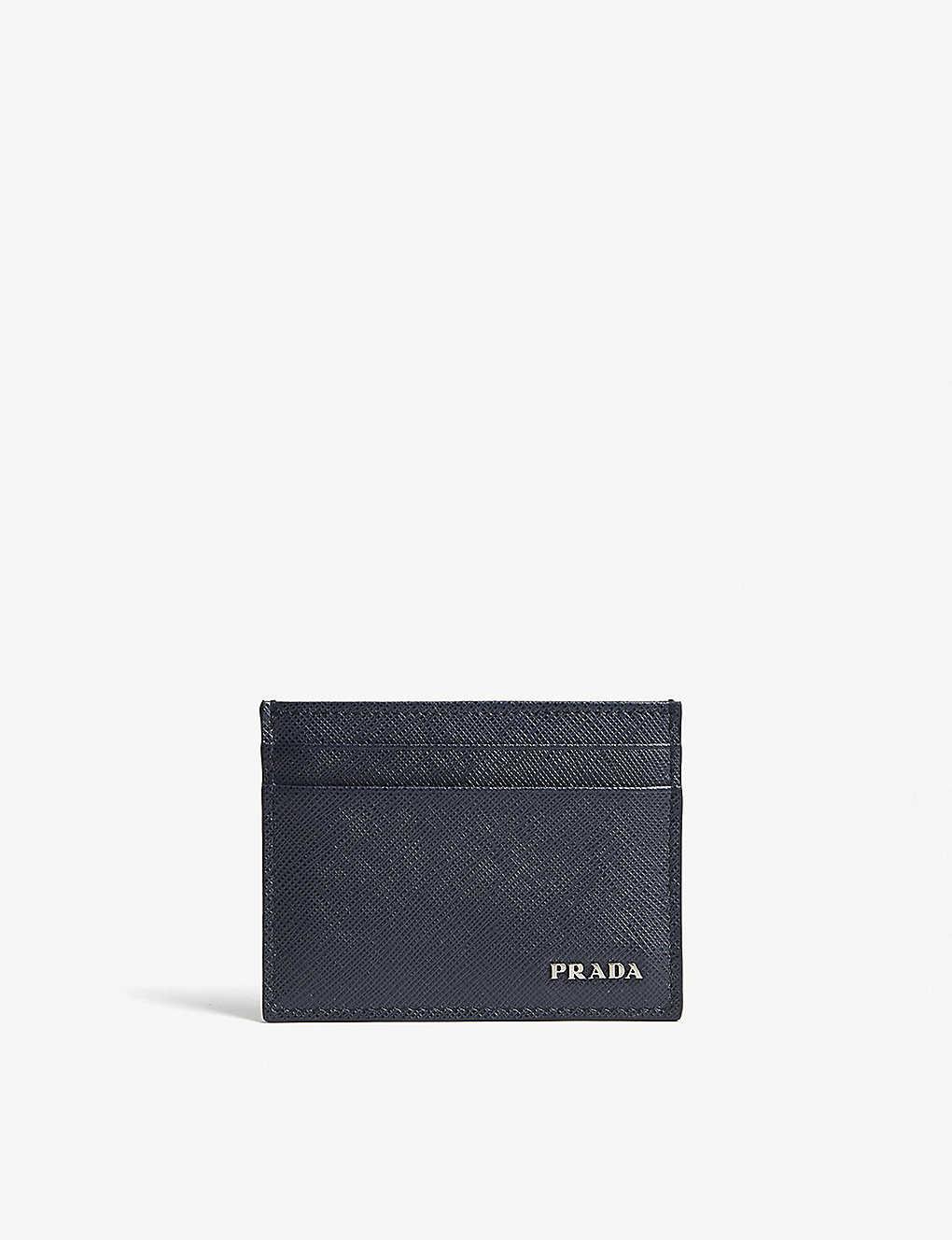 1041734e5560 PRADA - Saffiano leather card holder | Selfridges.com