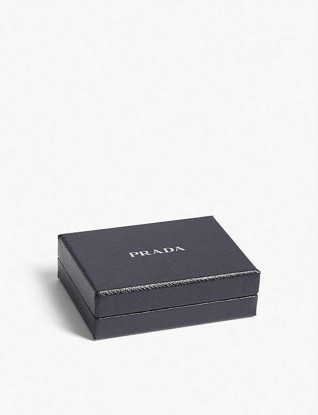 05e3bca91ea8 PRADA - Eye patch Saffiano leather wallet   Selfridges.com