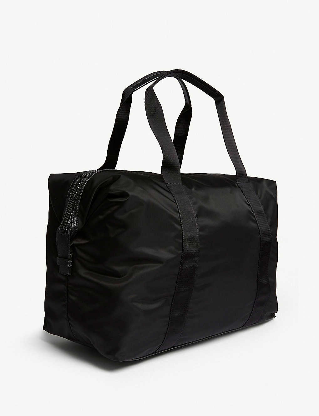 4308a33814ca ... Nylon technical weekender bag - Black ...