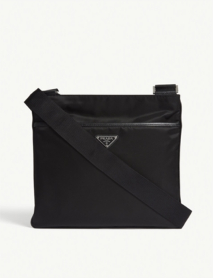 PRADA Flight nylon shoulder bag