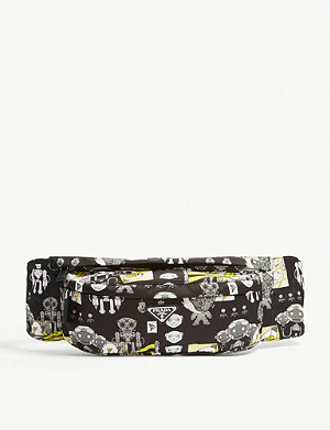 PRADA Ape print nylon belt bag