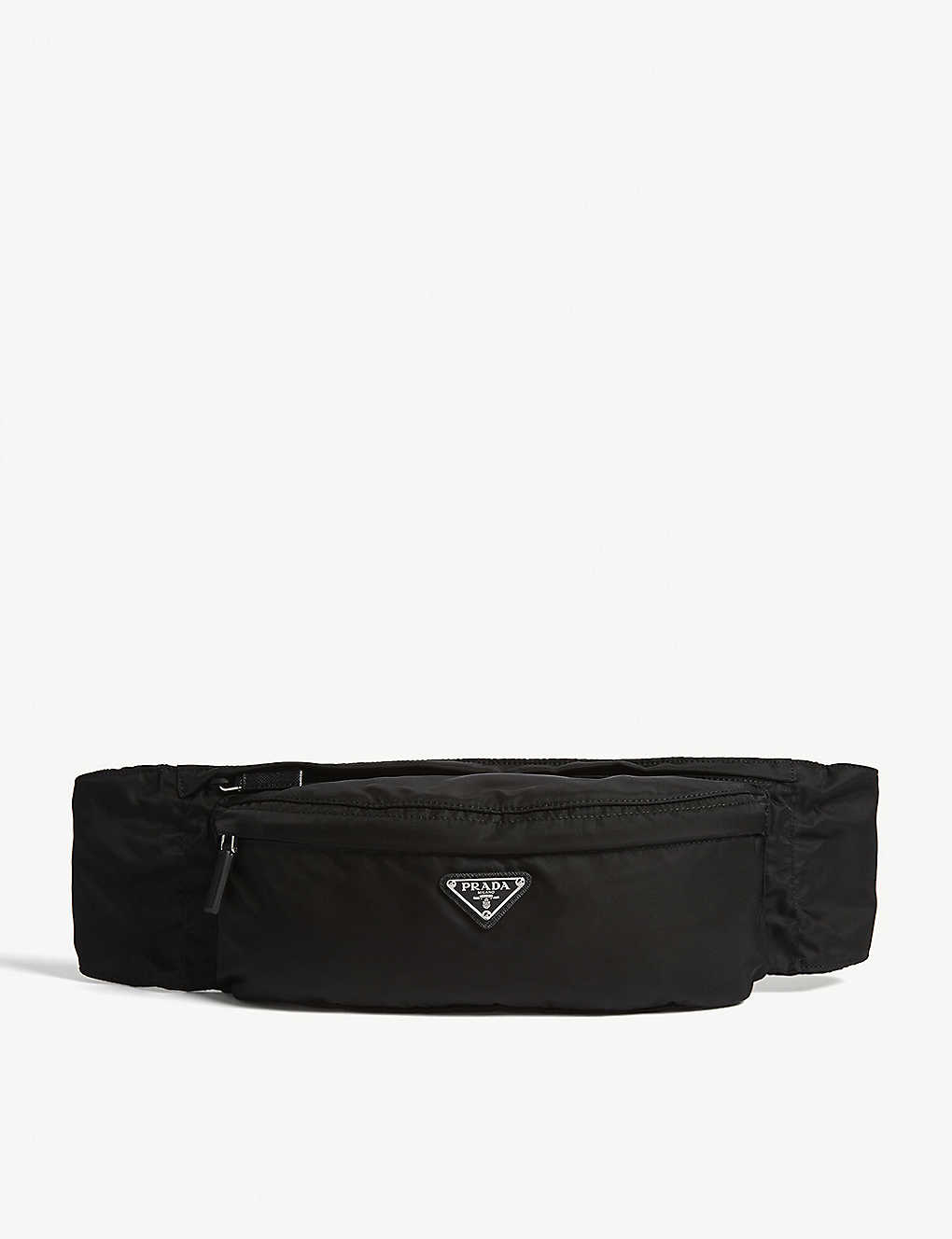 38f9eaf8f080 PRADA - Logo nylon belt bag | Selfridges.com