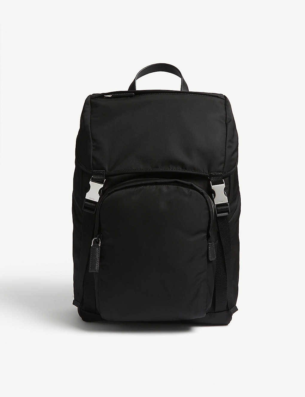 31703b519470d6 PRADA - Nylon technical backpack | Selfridges.com