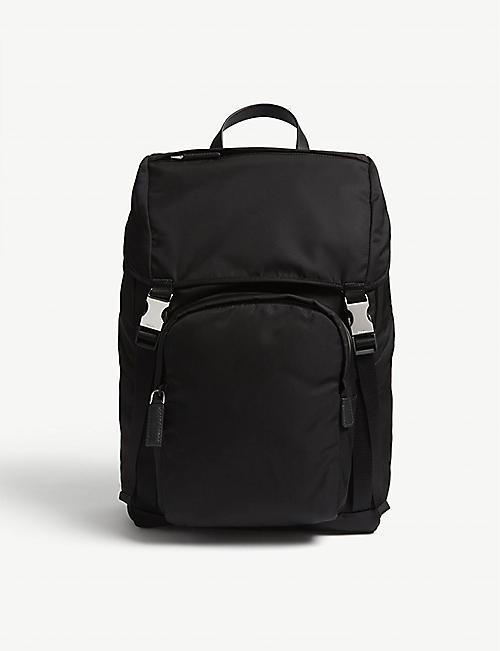 PRADA - Backpacks - Mens - Bags - Selfridges  eceb2407d4238