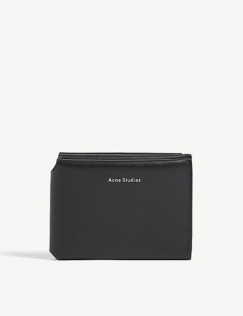 ACNE STUDIOS Tri-fold leather wallet