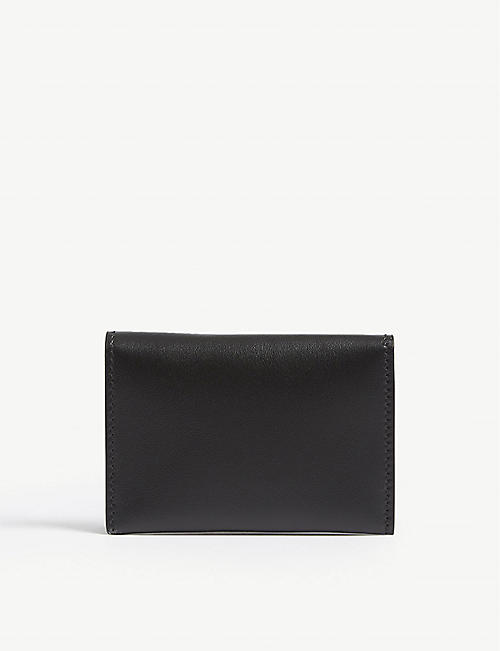 ACNE STUDIOS Logo bi-fold leather card holder
