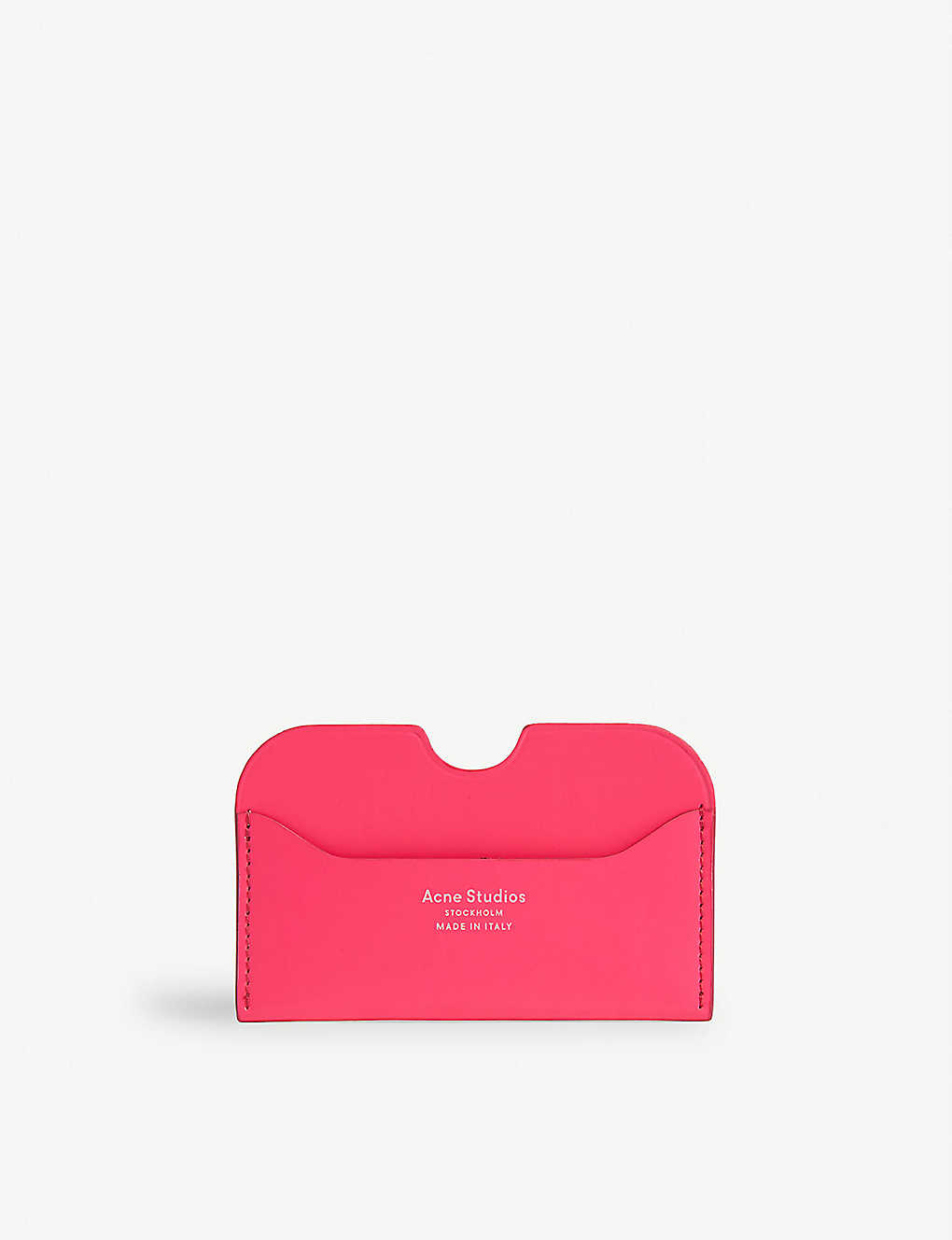 ACNE STUDIOS: Leather card holder