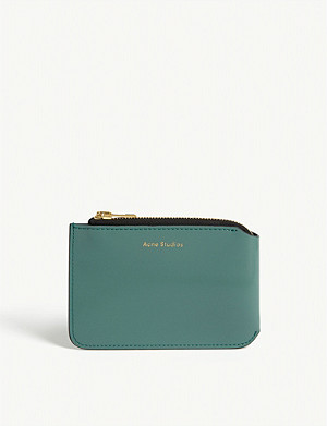 ACNE STUDIOS Logo leather wallet