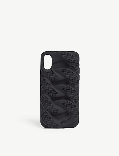 VERSACE Chain Reaction iPhone X cover