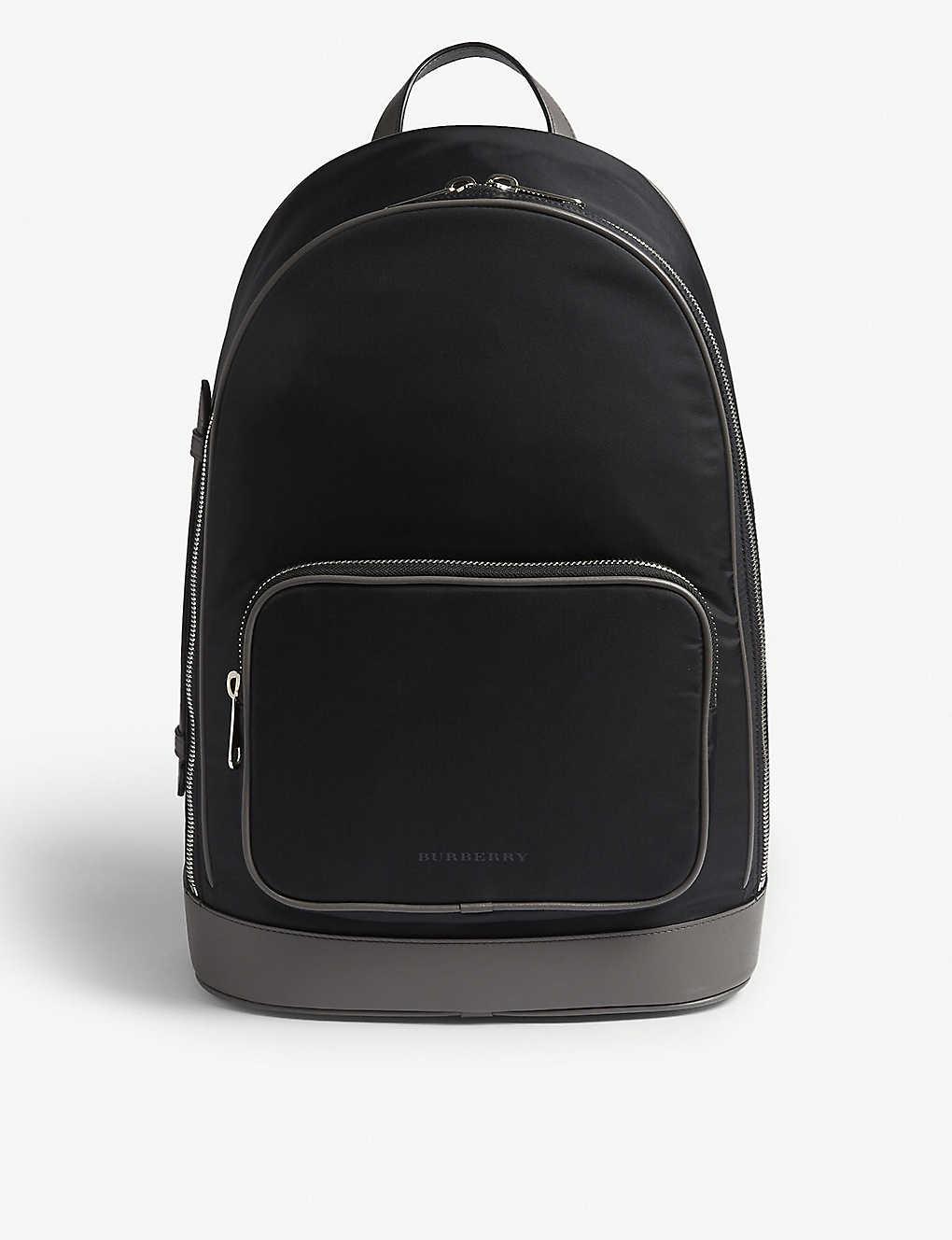 0b7adcac886 BURBERRY - Rocco nylon backpack   Selfridges.com