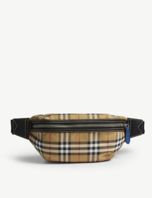 BURBERRY Sonny vintage check bum bag
