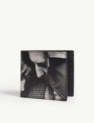 BURBERRY Archive campaign 1965 leather billfold wallet