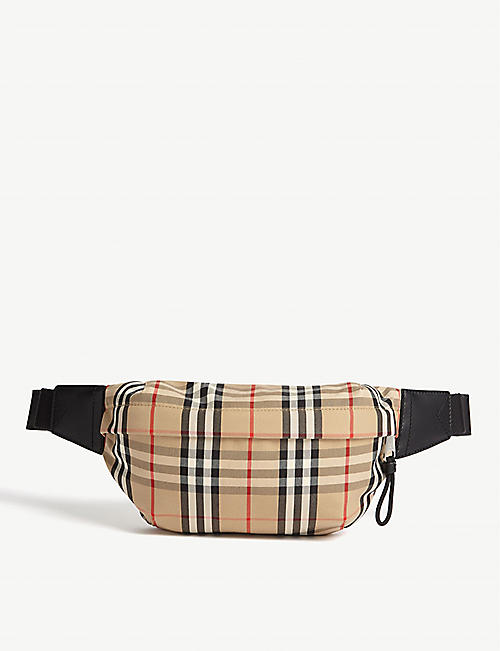 BURBERRY Sonny vintage check belt bag