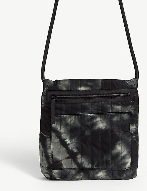 DRIES VAN NOTEN Tie-dye effect cross-body bag