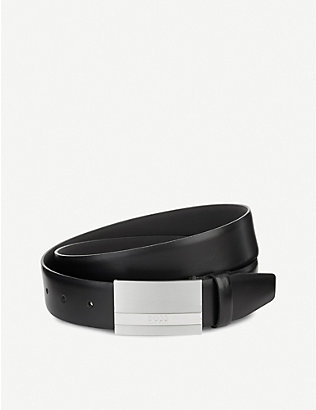 BOSS: Baxton leather belt