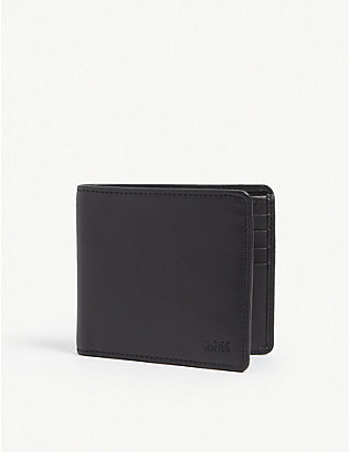 BOSS: Leather billfold wallet