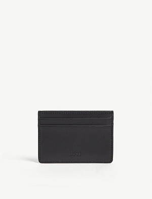 BOSS Leather card holder