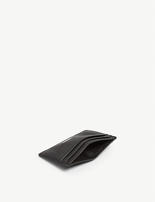 BOSS Textured leather wallet & cardholder gift set