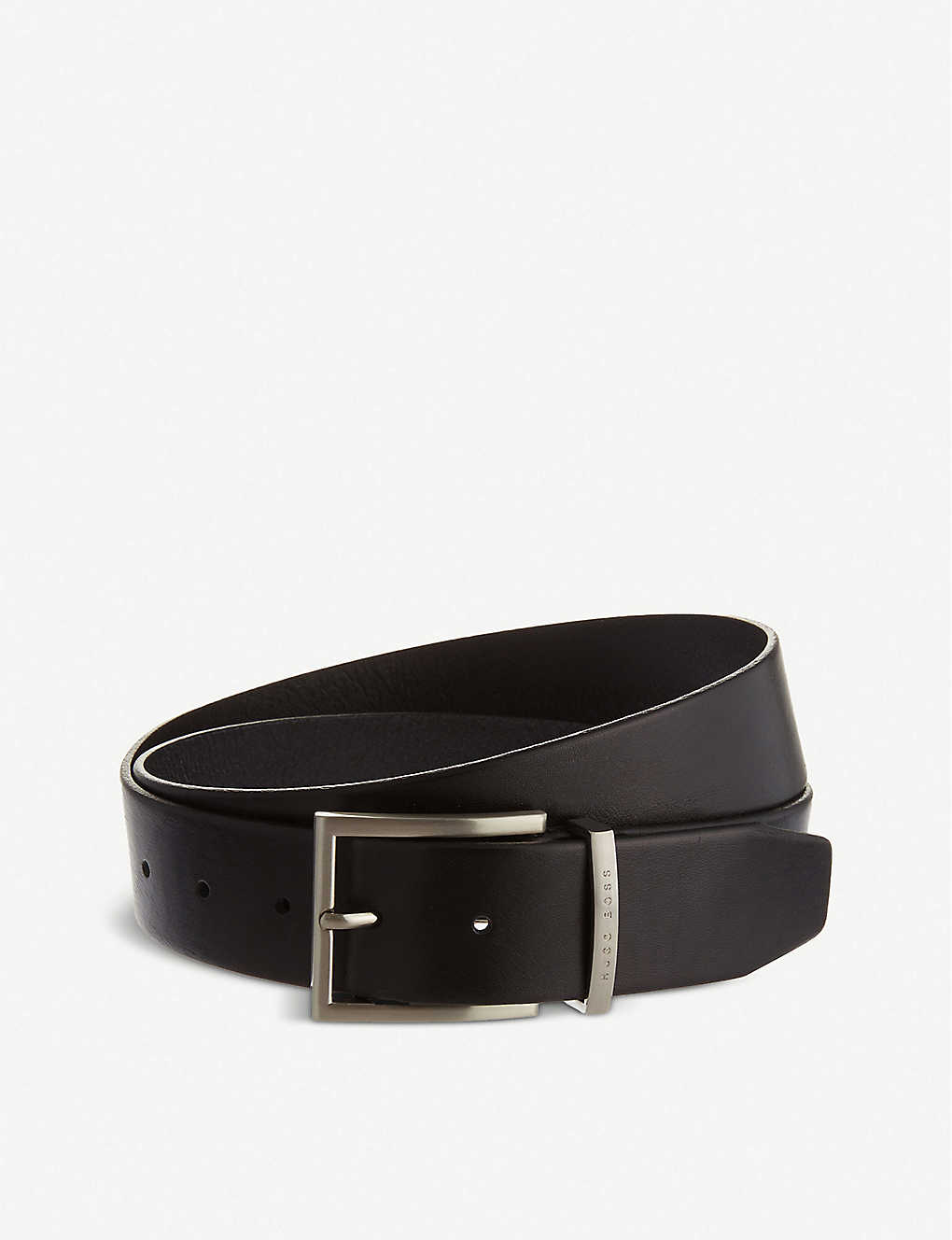 BOSS: Leather belt
