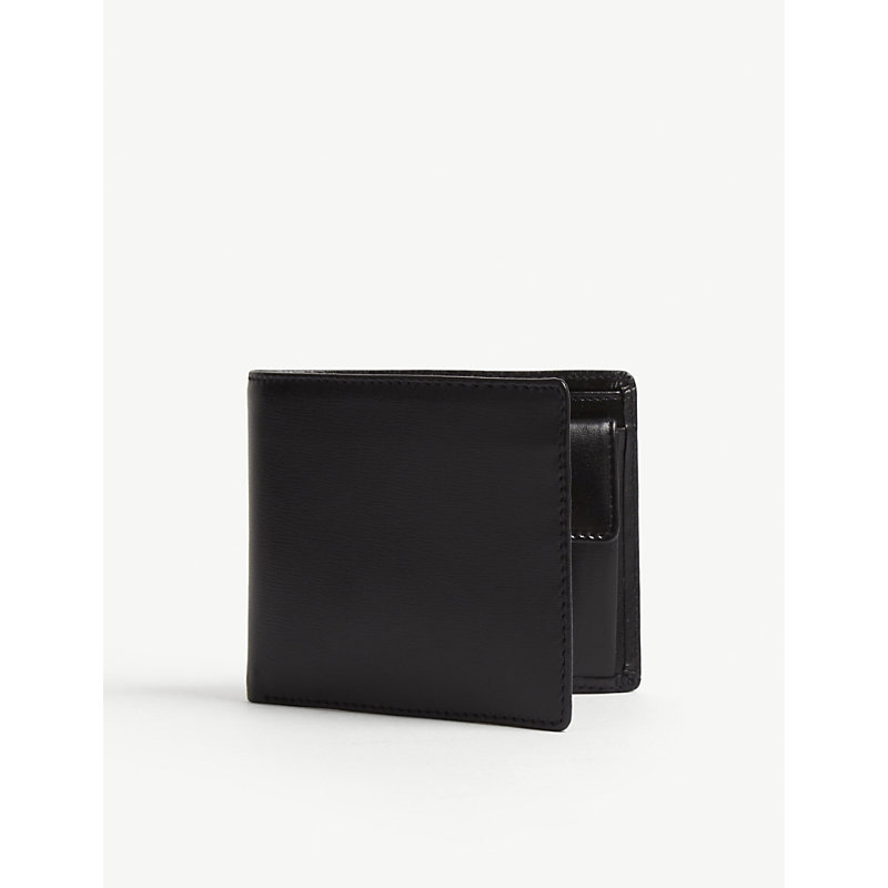 LAUNER Billfold Wallet With Coin Pouch in Black
