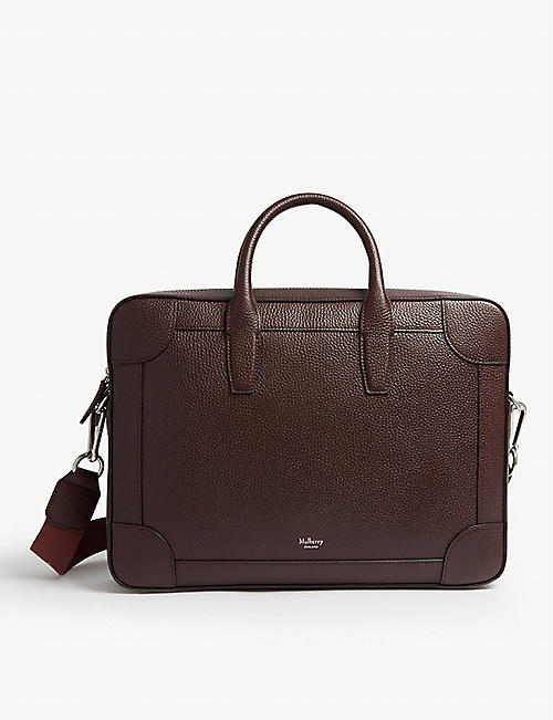 MULBERRY Belgrave leather single document bag