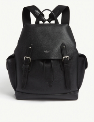 MULBERRY Heritage grained leather backpack