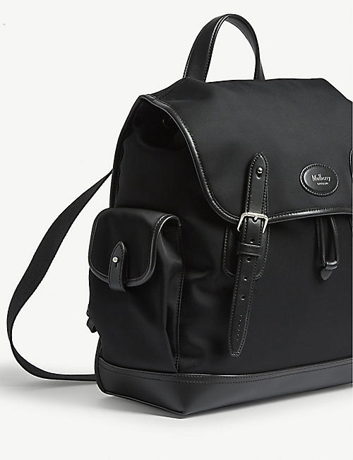 MULBERRY Heritage nylon backpack
