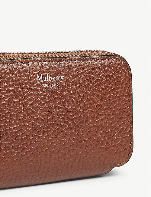 MULBERRY Leather multicard purse