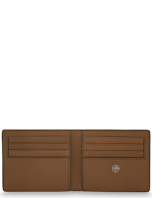6e0361058f03 MULBERRY Grained leather billfold wallet