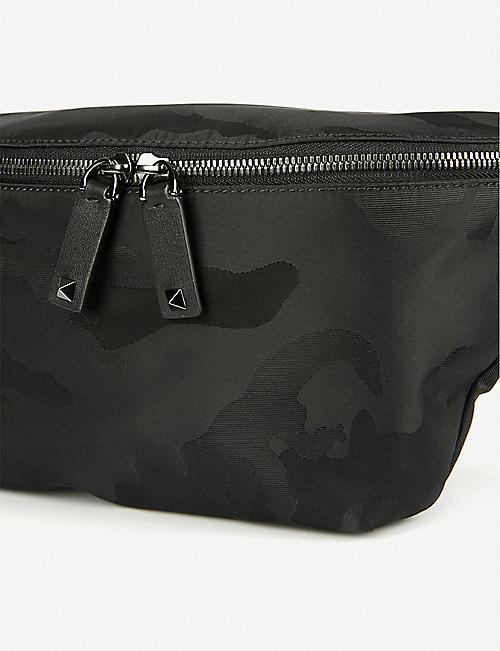 3bcec6dc443 VALENTINO Camouflage jacquard belt bag