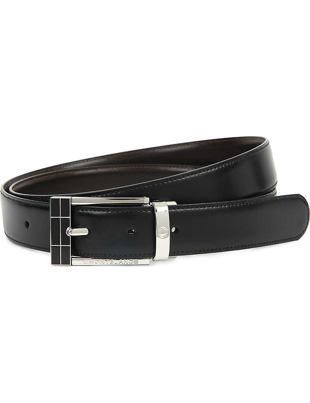 8d2606200bf MONTBLANC - Reversible leather belt