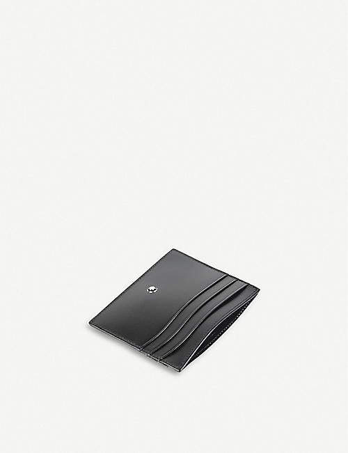 MONTBLANC Meisterstück leather 6cc credit card holder