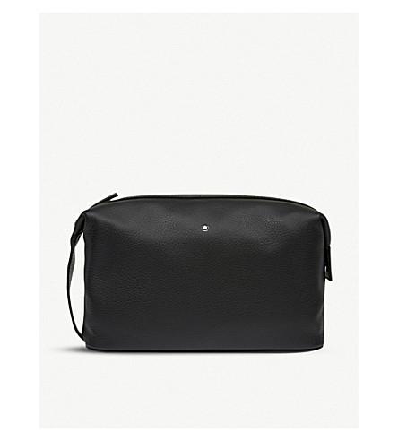 MONTBLANC - Meisterstück soft grain leather wash bag  67db338f72699