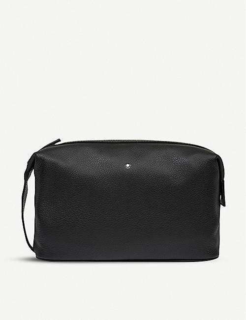 MONTBLANC Meisterstück soft grain leather wash bag