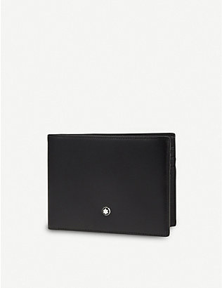 MONTBLANC: Leather billfold wallet