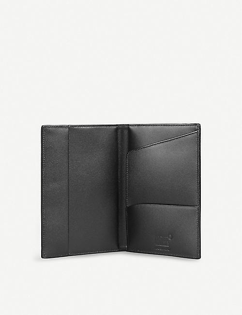 MONTBLANC Meisterstück leather passport holder